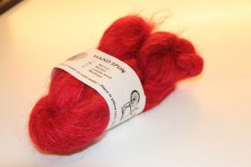 A.E. Mohair Love Red