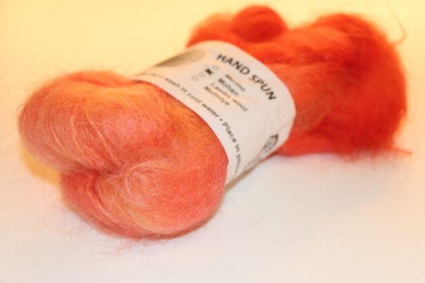 A.E. Mohair Love Orange