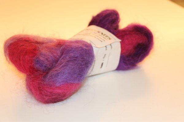 Multi-dyed Mohair Purple/Pink