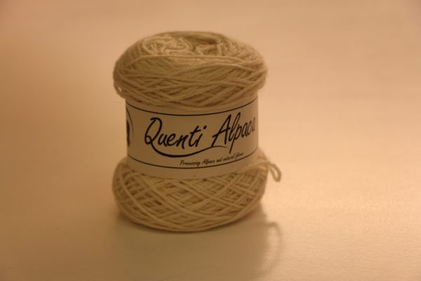 Cape Alpha Yarn White