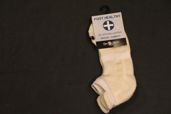 Medisocks Ecru/White